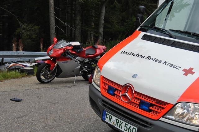 Motorradfahrer verunglückt am Feldberg tödlich