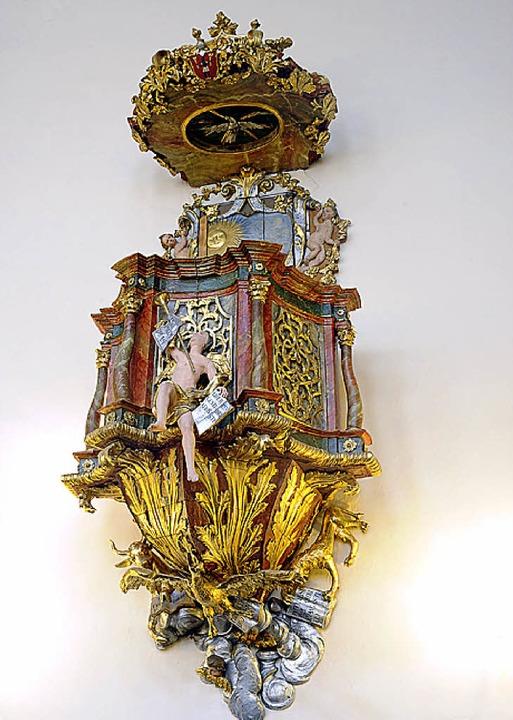 Die Kanzel von 1730  | Foto: Thomas Kunz