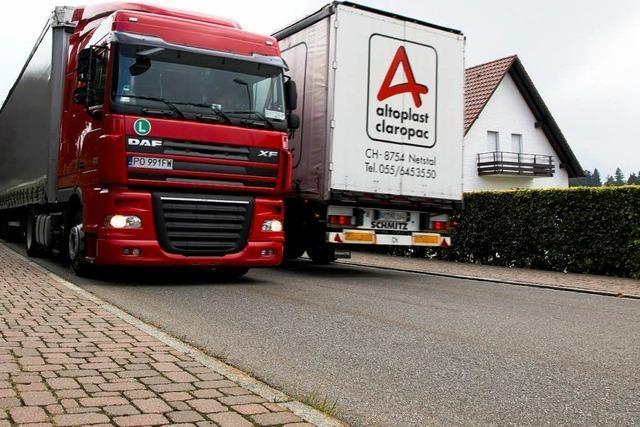 B31-Sperrung: Laster missachten Fahrverbot am Spirzen