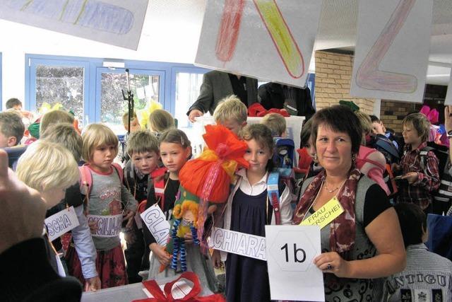 Schurhammerschule: ABC-Schützen, bitte einsteigen!