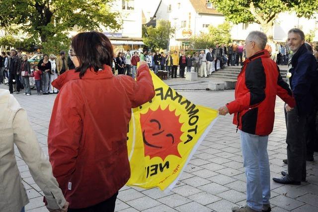 400 Bürger: Atomkraft, nein!