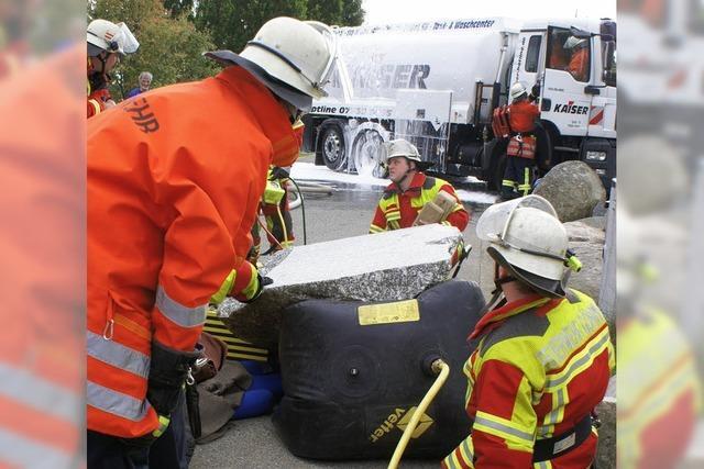 Feuerwehren überzeugen mit beispielhafter Zusammenarbeit