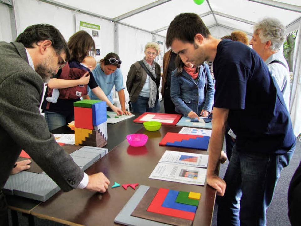 Mathematik für den Homo ludens beim bunten Basar des Wissens.   | Foto: Martina David-Wenk