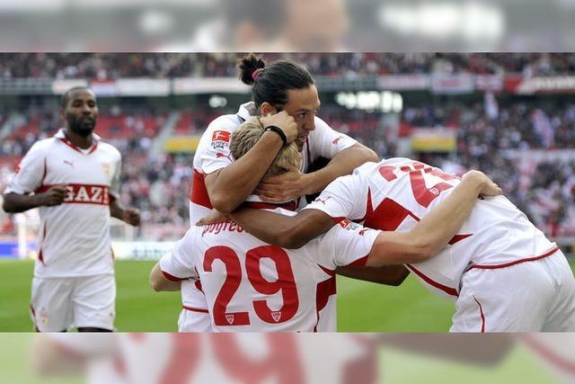 Der VfB bezwingt Mönchengladbach mit 7:0