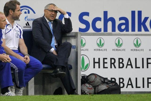 Schalke im freien Fall
