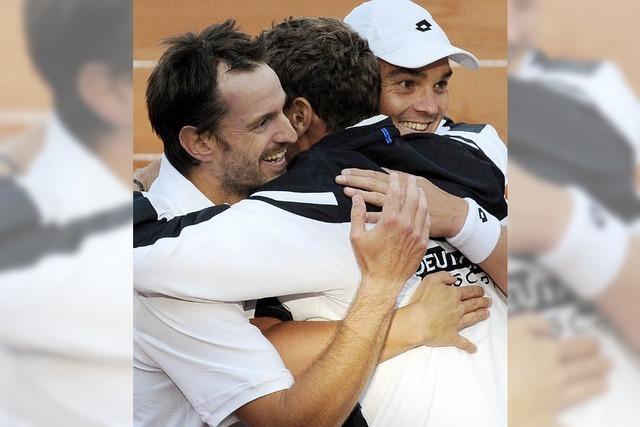 Deutsches Daviscup-Team bleibt erstklassig