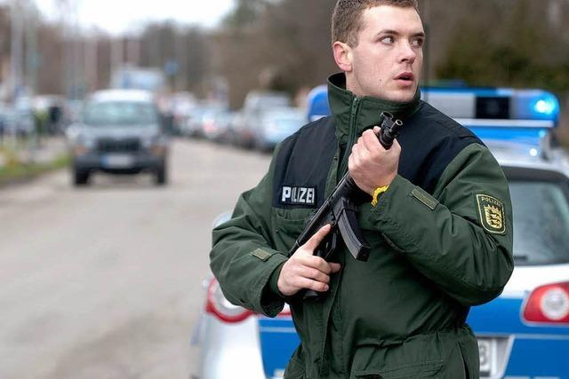 Polizisten müssen bei Amokläufen gleich stürmen