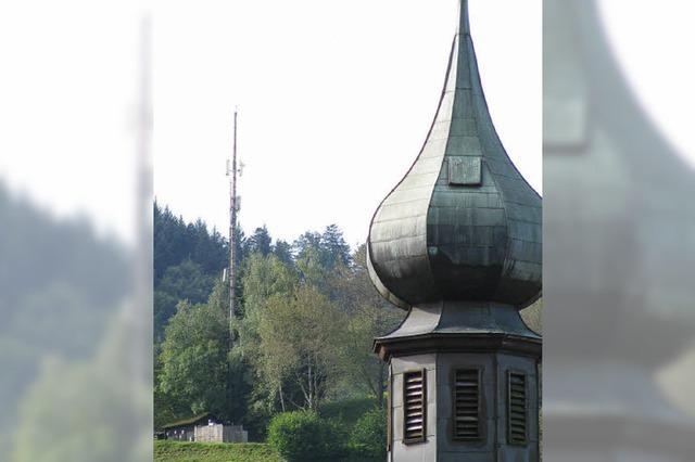 Neuer Funkmast im Münstertal