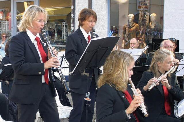 Stadtmusik erspielt sich die Herzen der Zuhörer