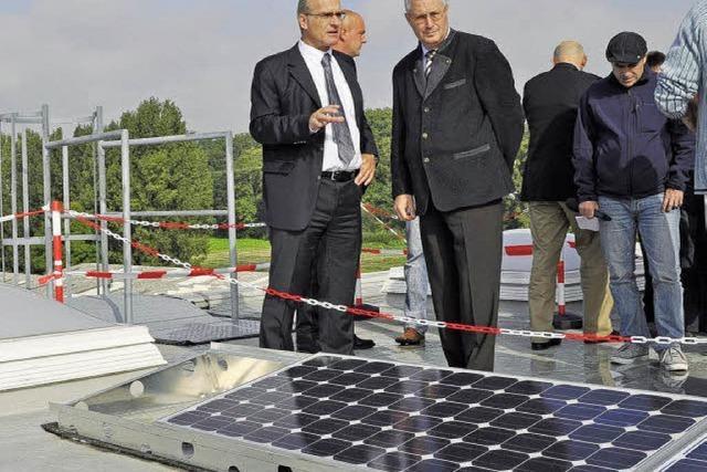 Ein vorbildliches Solarkraftwerk