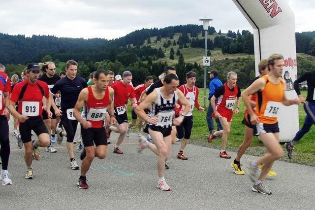 Weniger Läufer in Bernau