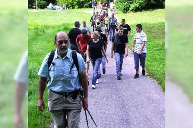 Mit den Familien unterwegs