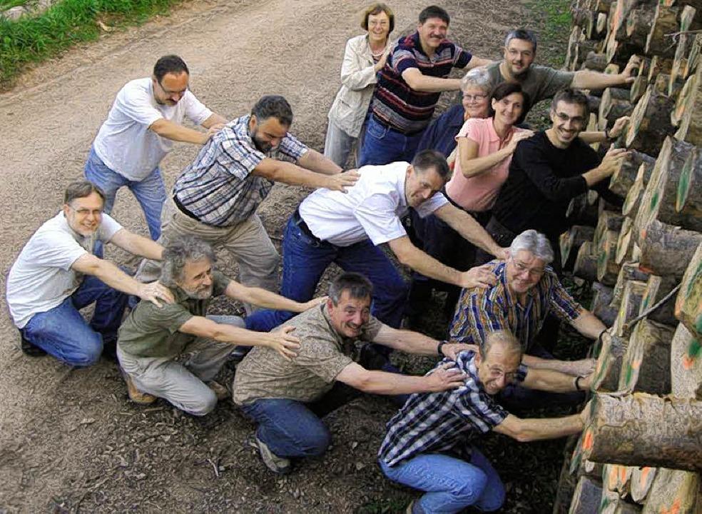 Die Interessengemeinschaft Bürgerheizu...elberg unabhängig vom Ölpreis machen.   | Foto: Bürgerheizung, ounas-kräusel