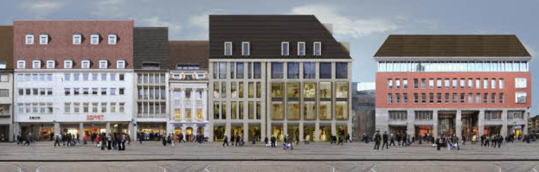 Zu wertvoll, um es zu verkaufen: Die S...kaden an der Nordfassade hinzukommen.   | Foto: architekturbüro wöhr