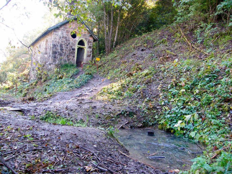 Den Erhalt der Badhofkapelle und der H...ie nachfolgenden Generationen sichern.    Foto: Martha Weishaar