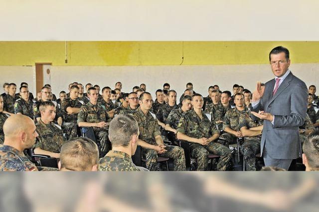 250 Soldaten nehmen kein Blatt vor den Mund