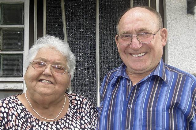Ein Ehepaar, das immer gerne gelacht hat