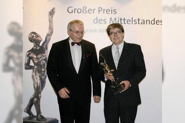 """Große Preis des Mittelstands 2010"" geht an den Waldkircher Orgelbau Jäger & Brommer"