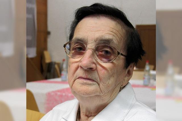 Die Frau vom Gemeindeblättle