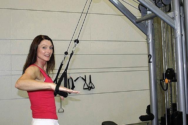 Neue Leiterin im Fitnessstudio Formefit in der Murhau in Breisach