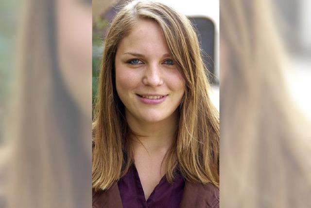 Sophia Zwigart hat in Öflingen neu begonnen