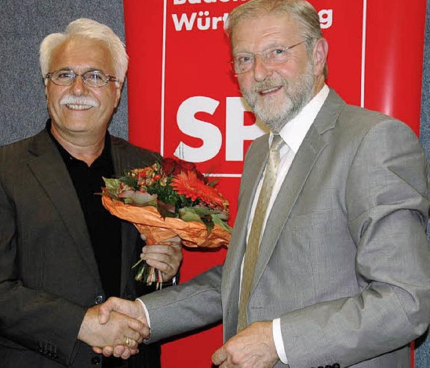 Die SPD hat für den Wahlkreis 59 bei d...eht Hidir Gürakar auf dem Wahlzettel.     Foto: Manfred Hüfner