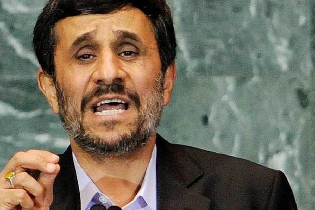 Verschwörungtheorien: Eklat um Ahmadinedschad