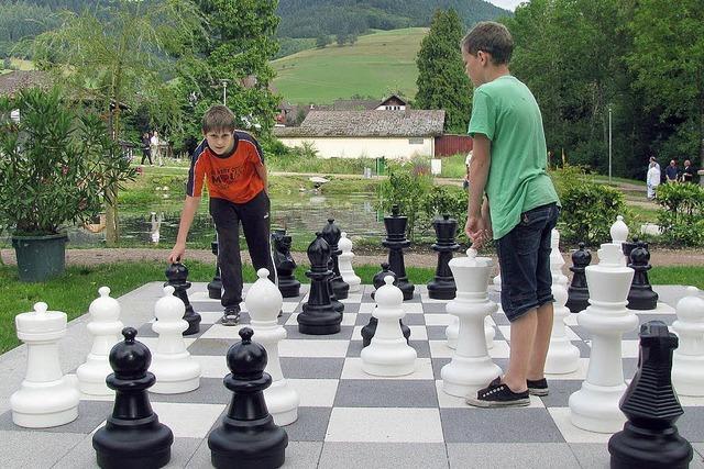 Schlüsselvergabe für die Schachfiguren