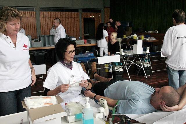 Blutspenden in Ühlingen