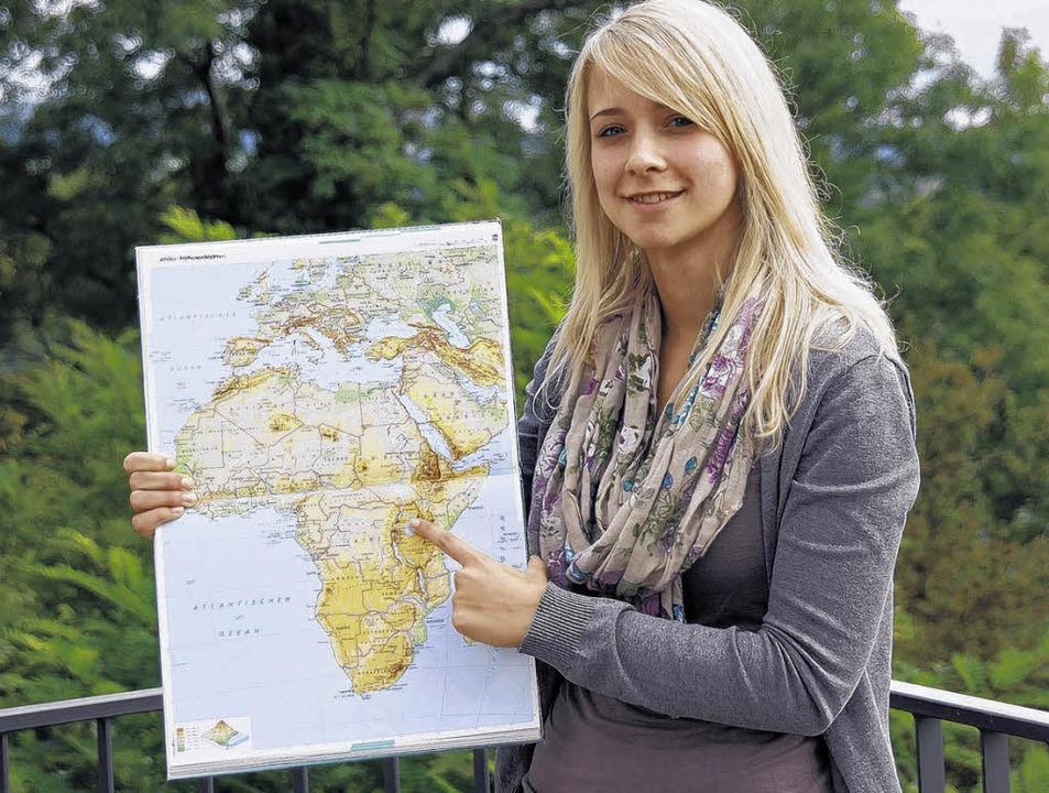 Die 20-jährige Martina Riedmüller will...ntauschen, um dort Kindern zu helfen.   | Foto: Wolffs
