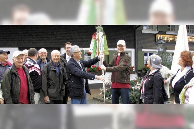 Wimpelbaum ist jetzt in Freiburg