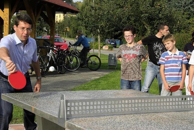 Freie Bahn fürs Tischtennis