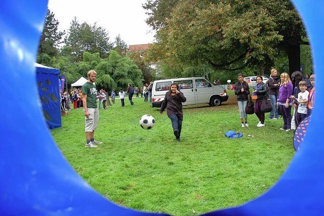 Massenbewegung im Bürgerpark