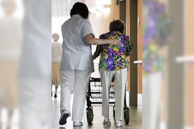 Überkapazität an Pflegeheimplätzen
