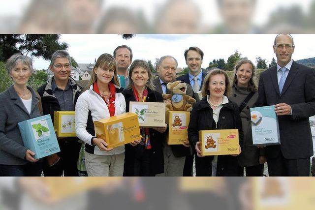 Sidroga verabschiedet sich mit Spenden von Bad Säckingen