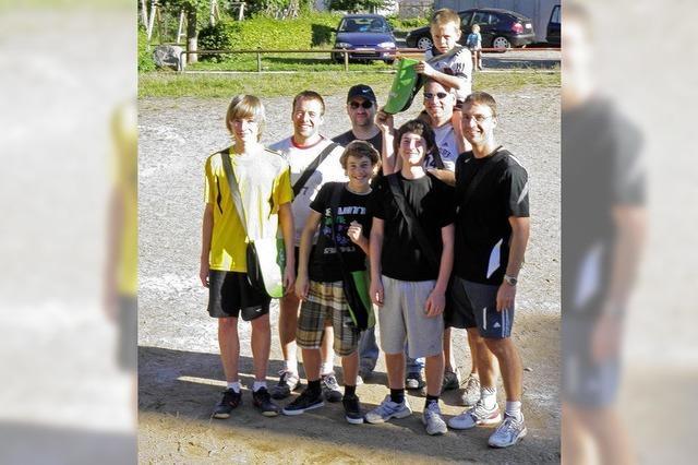 Spaß und Spiel für die ganze große Handballfamilie