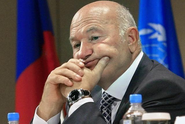 Korruption: Moskaus Bürgermeister gefeuert