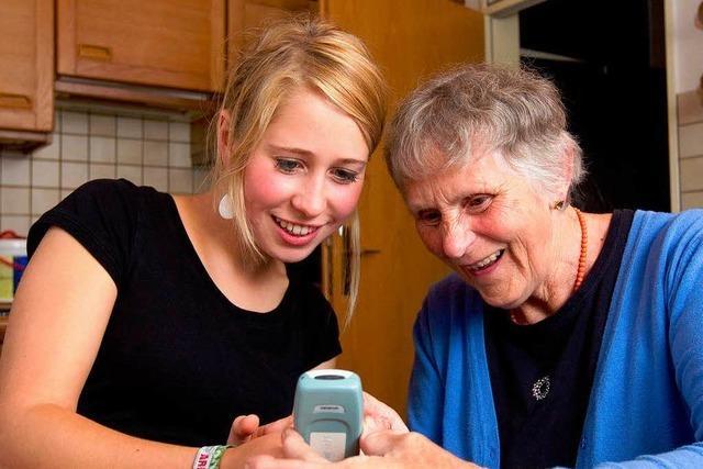 Viele ältere Menschen sind Handy-Muffel