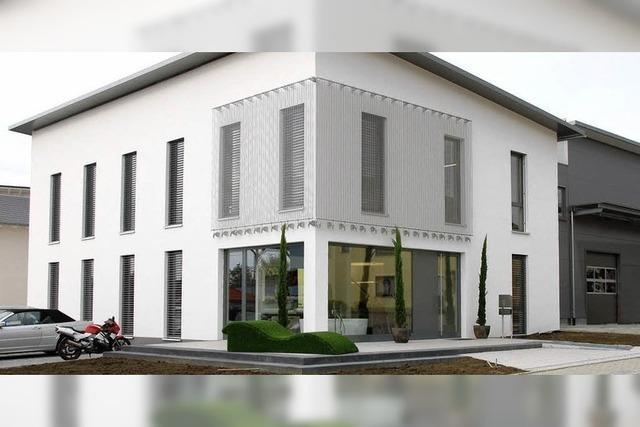 Neubau bietet Platz für alle Firmenbereiche