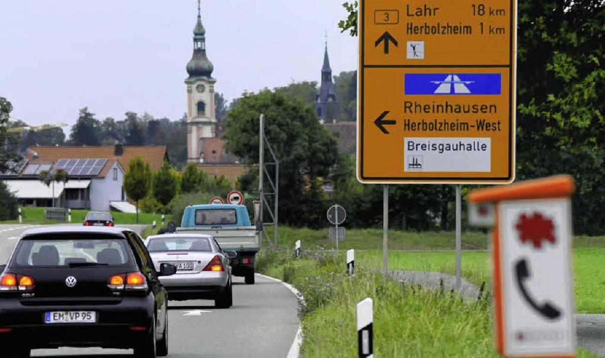 Durch Herbolzheim rollt nur noch wenig Durchgangsverkehr.    Foto: Siegfried Gollrad