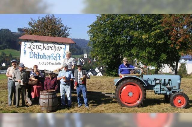 Wiesengaudi bayerischer Art in der Festhalle