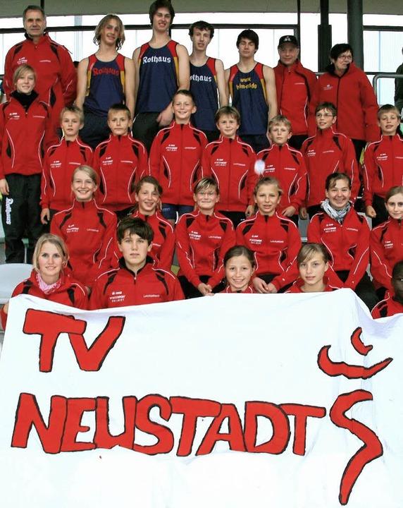 Athleten mit Zukunft: Die Teams des TV Neustadt  | Foto: heiler