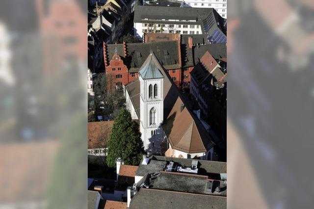 Selbstbewusst im Münster-Schatten