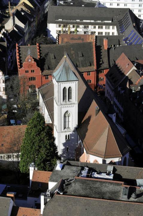 Neugotisch und im Angesicht des Rathauses: St. Martin  | Foto: Ingo Schneider
