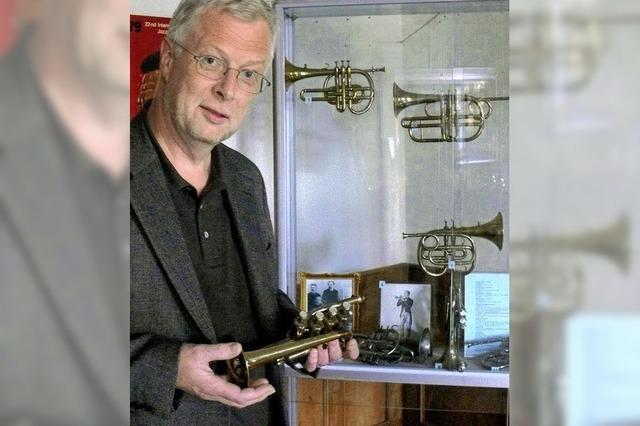 Gefeiert wird mit Pauken und Trompeten