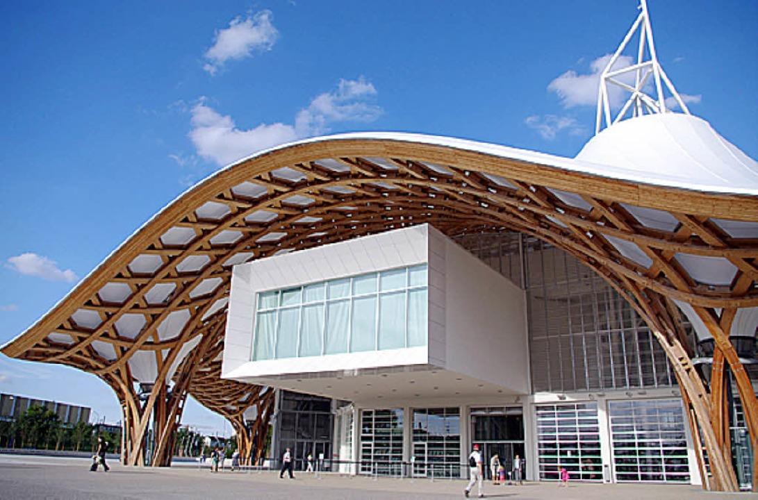 Das Centre Pompidou in Metz: An der kü...  waren Planer aus Freiburg beteiligt.  | Foto: Privat