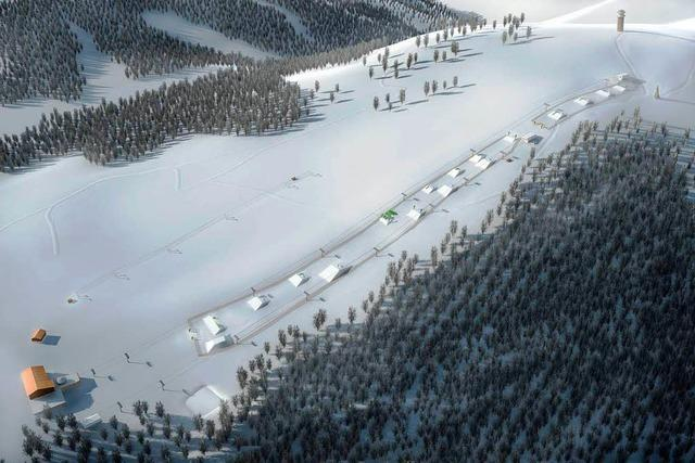 Am Feldberg entsteht ein neuer Schneepark