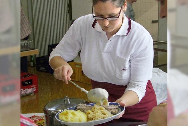 Deftige Küche der Landfrauen