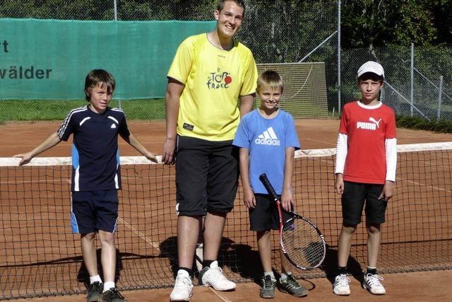 Doppelt Spaß am Tennis
