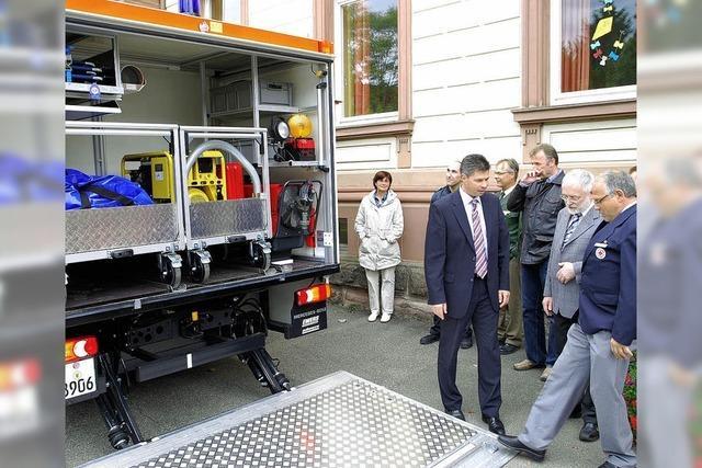 Schopfheim steigt zum Katastrophen-Zentrum auf